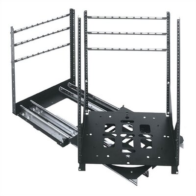 SRSR Series 19 D Rotating Sliding Rail System (300 Lb. Capacity) Rack Spaces: 25U Spaces