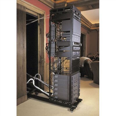 SSAX In-wall System for Rackmount, 25 Ext. Length Rack Spaces: 17U Spaces