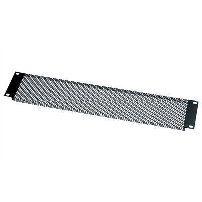 VT Series Vent Panel, Large Perforated Design Panel Height: 3 1/2 H (2U Space)