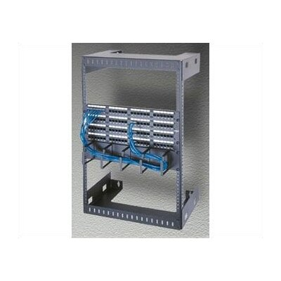 Wall Mount Open Frame Rack Rack Spaces: 26 1/4 H (15U Space), Depth: 12