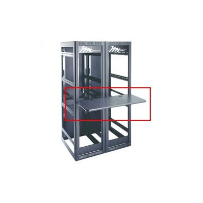 Multi-Bay Work Surface Shelf for MRK Series Rack Mounts Shelf Span: 4 Bay, Shelf Depth: 18 Deep, Rack Depth: 26 Deep