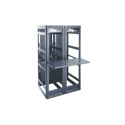 Multi-Bay Work Surface Shelf for WRK  Series Racks Mounts Rack Depth: 27 Deep, Shelf Depth: 24 Deep, Shelf Span: 4 Bay