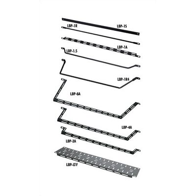 VMRK-54 Series 19 W Horizontal Lacer Bars (L Bar) Bars Offset by (Number of Inches): 6
