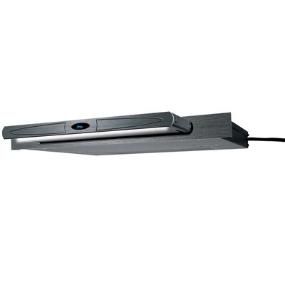 Designer Inspired Rack Light with 15 Amp Power Distribution Finish: Black Brushed and Anodized