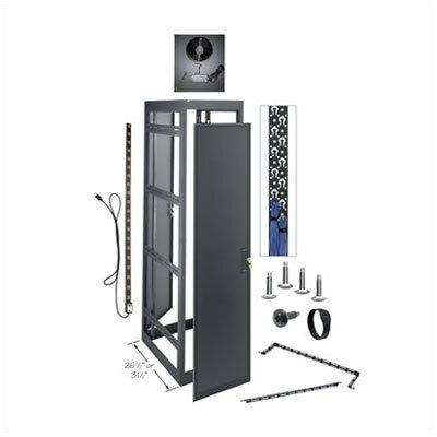 MRK Series Gangable Configured Enclosure Size: 83.125 H x 22 W x 26.4 D