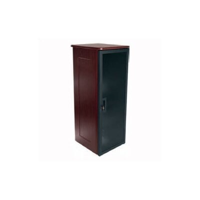 Top and Side Panels For 26 D Slim 5 Series Racks Finish: Pepperstone Top/Slate Sides, Rack Spaces: 43U