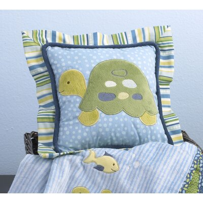 Decorative Pillows For Crib : Buy Low Price CoCaLo Baby Turtle Reef Decorative Pillow Crib Bedding Mart