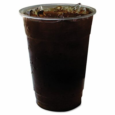 GreenStripe Renewable Resource Compostable Cold Drink Cups, 12 oz, Clr, 50/Pack Size: 12 oz. ECOEPCC12GSPK