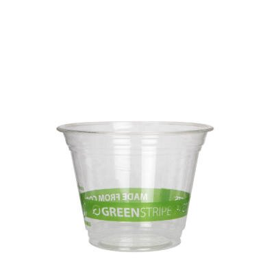 Greenstripe Renewable Resource Compostable Cold Drink Cups, 9 Oz., 1000/Carton ECOEPCC9SGS