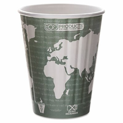 Insulated Compostable Hot Cup (600 Pack) ECOEPBNHC12WD