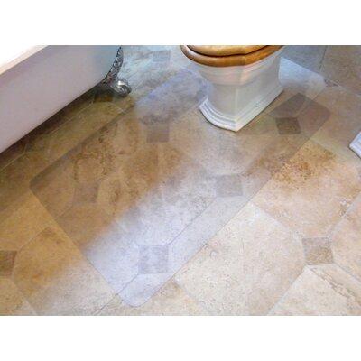 Toilet Mat Mat Size: 48 x 24