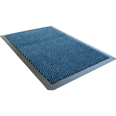 Hastings Advantage Doormat Mat Size: 4 x 5 10, Color: Blue