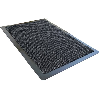 Hastings Advantagemat Mat Rug Size: 3 x 5, Color: Gray