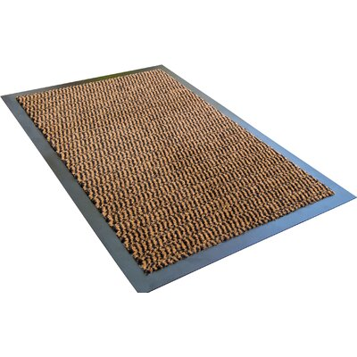 Hastings Advantage Doormat Mat Size: 2 8 x 4, Color: Brown