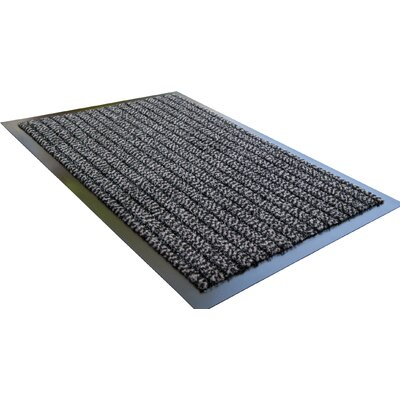 Doortex Ultimat Mat Rug Size: 2 x 2 8, Color: Gray