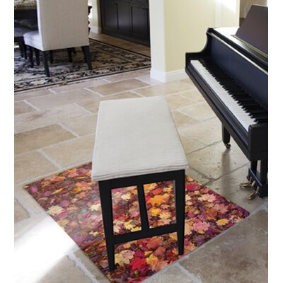 "Colortex Polycarbonate Chair Mat for Carpets/Floors, 36""x48"", Autumn Leaves (FC) - FLOORTEX 229220ECAL"
