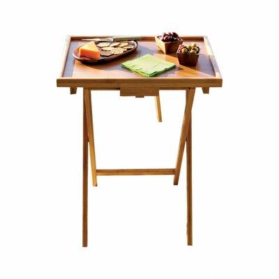 Bamboo Snack TV Tray Table