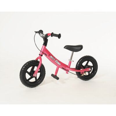 Glide Bikes Mini Glider Balance Bike - Frame Color: Pink
