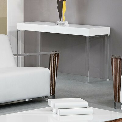 Buy Low Price Shahrooz Shahrooz Contempo Acrylic Sofa Table (SHZ1056)