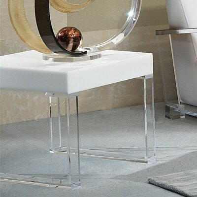 Contempo Acrylic End Table