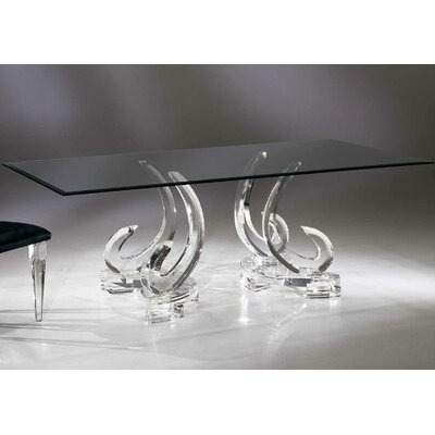Palace Dining Table with 1/2 Thick Glass