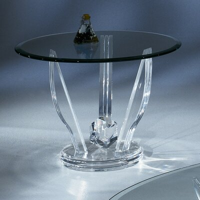 Oval 24 End Table