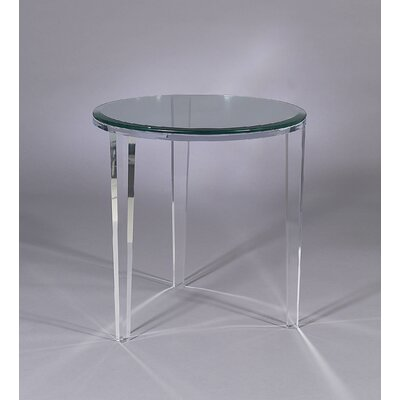 Angelo End Table with Glass