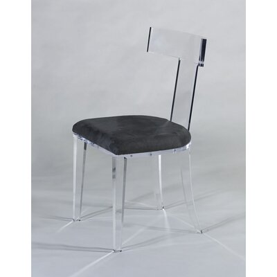 Tilly Side Chair Upholstery: Charcoal