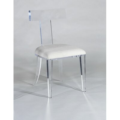 Tilly Side Chair Upholstery: White