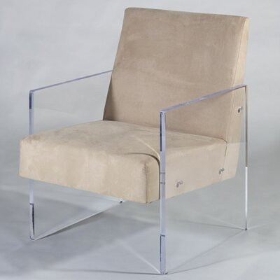 Block Armchair Upholstery: Camel