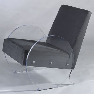 Circular Arm chair Upholstery: Charcoal
