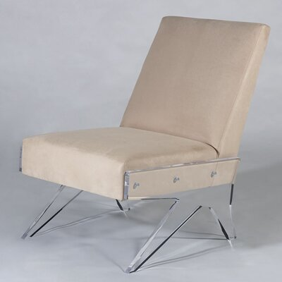 Celestin Slipper Chair Upholstery: Camel