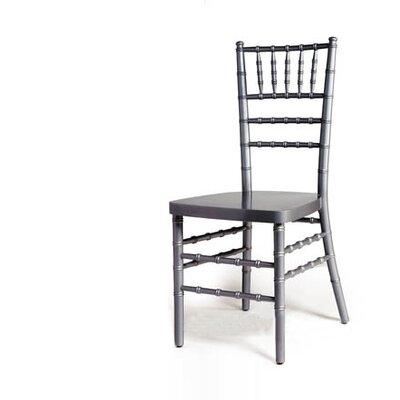 Advanced Seating Armless Chiavari Stacking Chair - Finish: SIlver