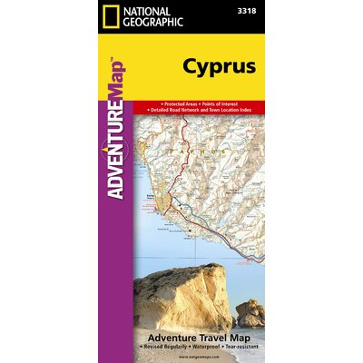 Australia (Adventure Travel Map) National Geographic (Adventure Map)
