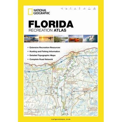 Alabama State Recreation Atlas National Geographic Maps
