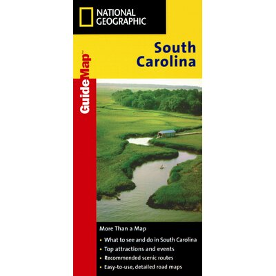 National Geographic Maps South Carolina Road & Guide Map at Sears.com