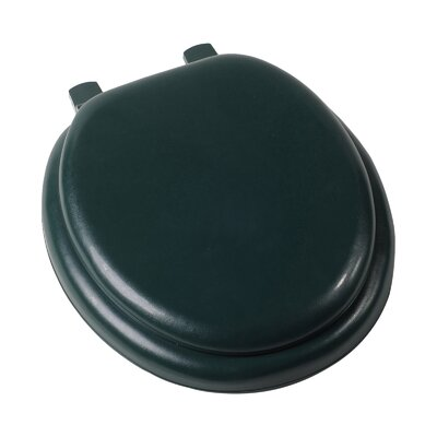 Deluxe Soft Round Toilet Seat Finish: Forest Green