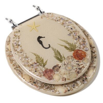 Comfort Seats Seahorse Acrylic Round Toilet Seat at Sears.com