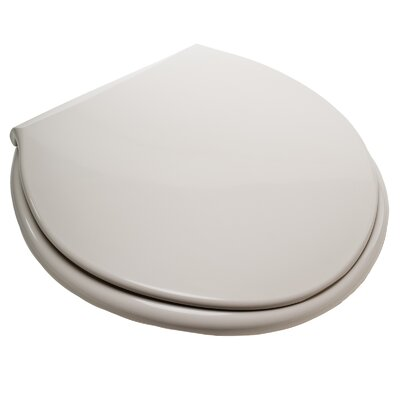Big John Closed Front Round Toilet Seat Finish: Cream