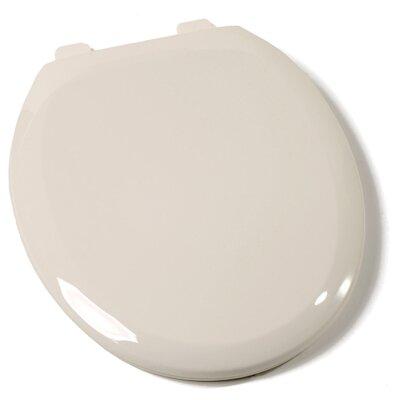 Premium Plastic Round Toilet Seat Finish: Biscuit