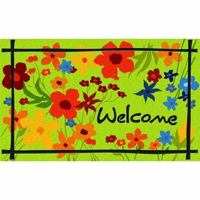 Masterpiece Wild Flower Doormat