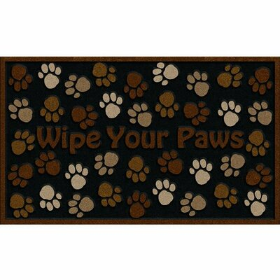 Cedar Drive Wipe Your Paws Doormat