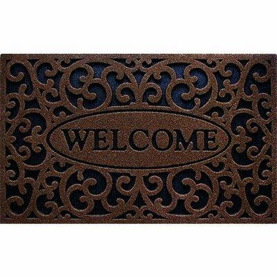 Cleanscrape Welcome Iron Doormat