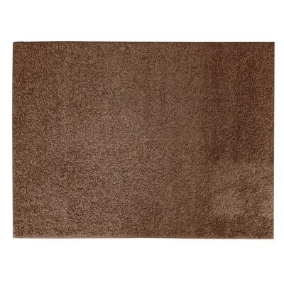 Sherman Chocolate Area Rug Rug Size: 5 x 7