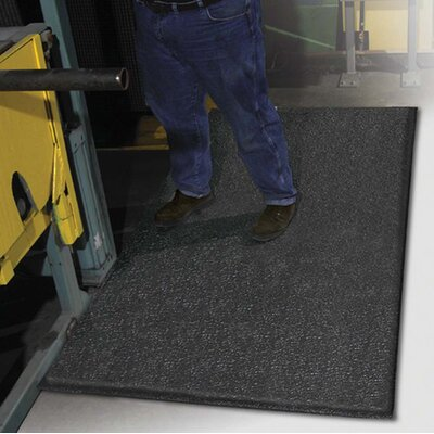 Ergo Flex Anti-Fatigue Utility Mat Color: Black, Mat Size: Rectangle 2 x 60