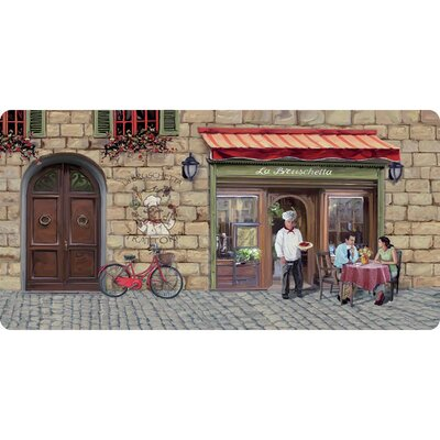 La Bruschetta Kitchen Mat Mat Size: Rectangle 18 x 36