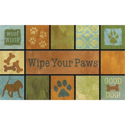 Masterpiece Woof Doormat
