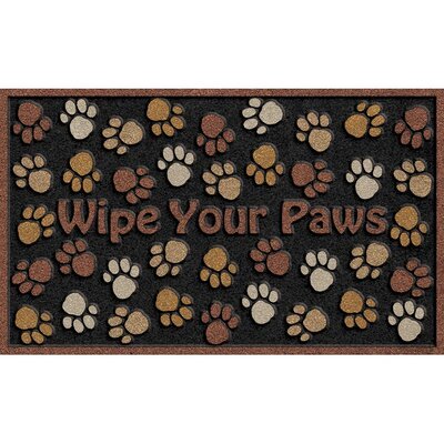 CleanScrape Deluxe Wipe Paws Doormat
