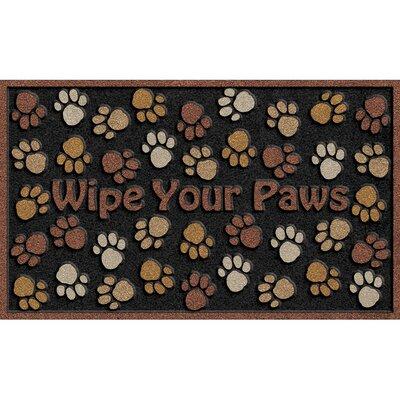 CleanScrape Deluxe Wipe Paws Doormat