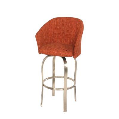 "Trica Tiramisu swv Bar Stool w/ Cushion -Seat Height:Counter Height (26.5""), swv Type:Memory Swivel, Seat Finish:Fabric -Sarteano News at Sears.com"